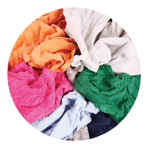 Mixed Coloured Engineering Rags