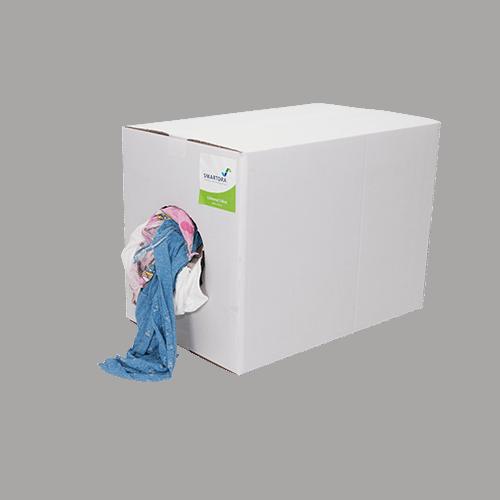 Coloured T-Shirt Rags box