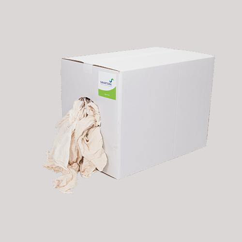 Natural Ecru Hosiery Wipers Box