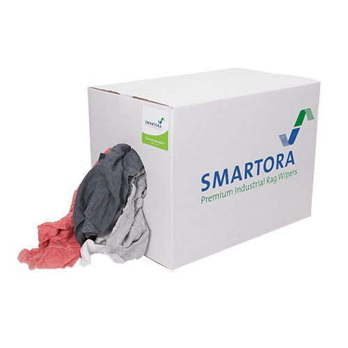 Coloured Sweatshirt Rags 10kg Box