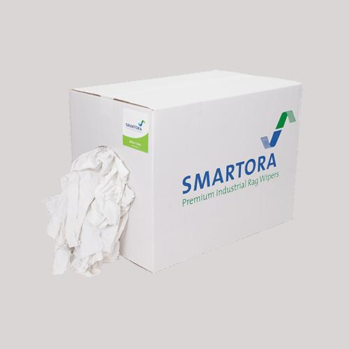 White T-Shirt Rags 10kg Box