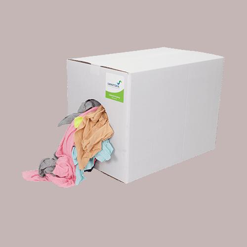 New Coloured Hosiery Rag Wipers 5kg Box
