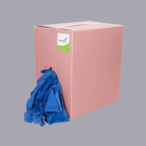 Blue Roll Towel Rags 10kg Box