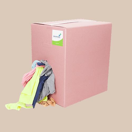 New Coloured Hosiery Rag Wipers 10kg Box