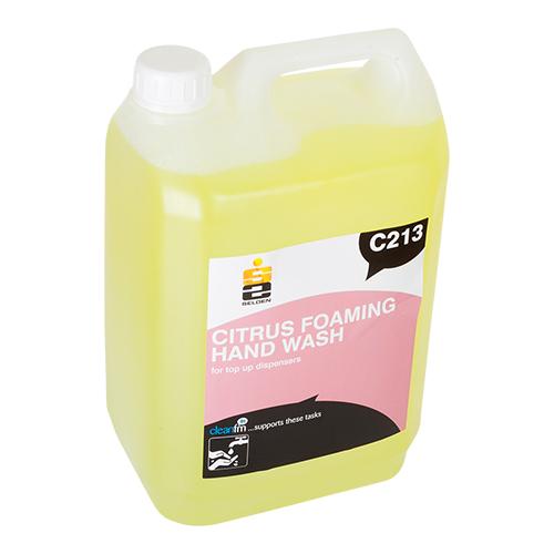 Citrus foaming hand soap