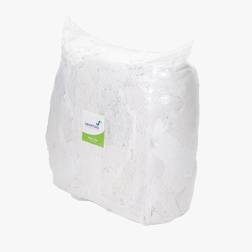 White T-Shirt Rags 10kg Bag