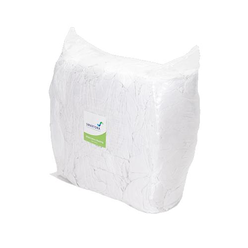 Premium White Cotton Sheeting Rags 10kg Bag