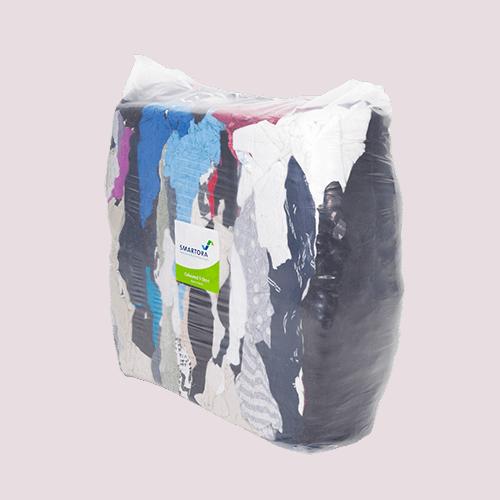 Coloured T-Shirt Rags 10kg Bag