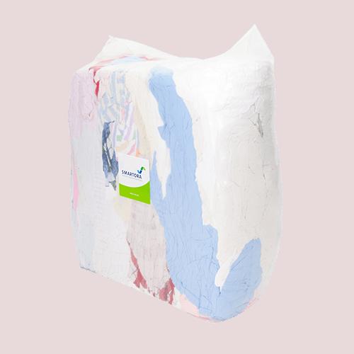 Coloured Flannelette Rags 10kg Bag