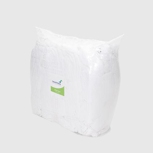 Laundry White Towel Rags Bag