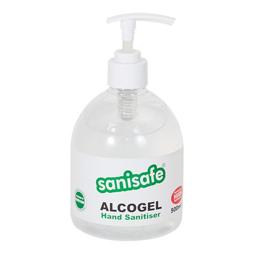 Alcogel Alcohol Hand Gel 500ml - Pump Top