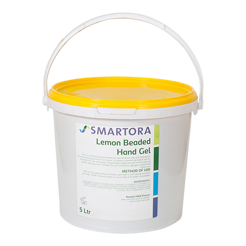 Lemon Beaded Hand Gel Solvent Free