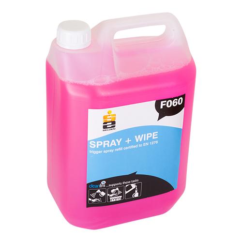Spray & wipe anti bac 5L